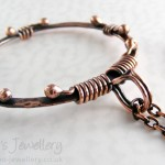 Copper loop in loop bracelet – part 2