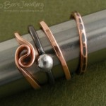 Rings, raffle prizes and lots of copper spirals