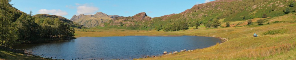 Blea Tarn in the Langdales on a pretty much perfect day.