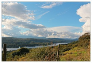 Windermere as viewed from the base of Gummer's How.