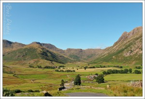 The Langdales on a just about perfect day.