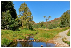 At was a totally glorious day when we waked around Blea Tarn.
