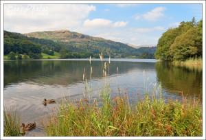 A lovely spot on the edge of Grasmere where we always sit for a drink in the middle of our walk.