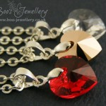 Swarovski Elements crystal heart pendants in my Christmas 2015 giveaway.